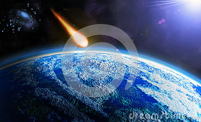 stock image of  asteroid