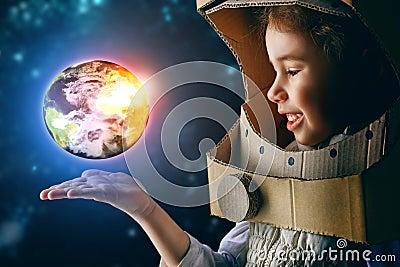 stock image of  astronaut