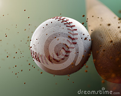 stock image of  baseball