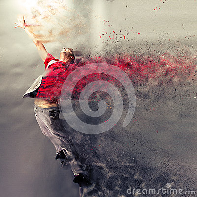 stock image of  dance explosion