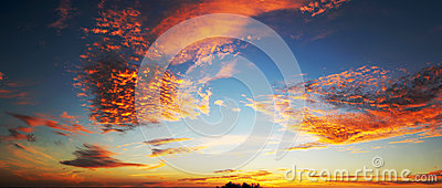 stock image of  dramatic sky