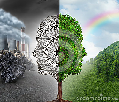 stock image of  environment change