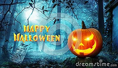 stock image of  happy halloween