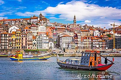 stock image of  porto, portugal skyline
