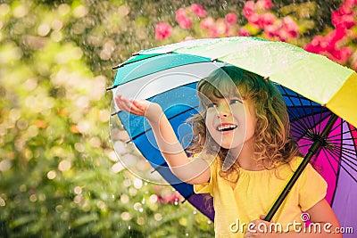 stock image of  rain