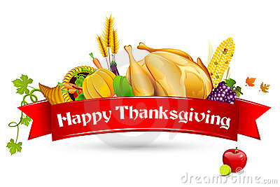 stock image of  thanksgiving card