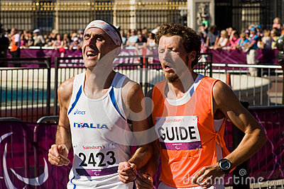 T12 (blind) Marathon Editorial Image