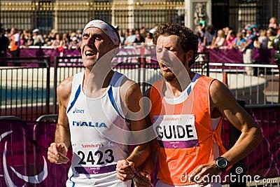 T12 (blind) Marathon Editorial Image