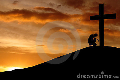 Tła chrześcijanina wyznanie