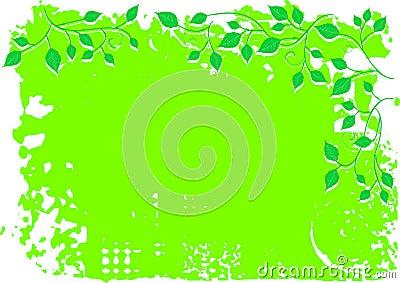 Tła kwiecisty liść ornament