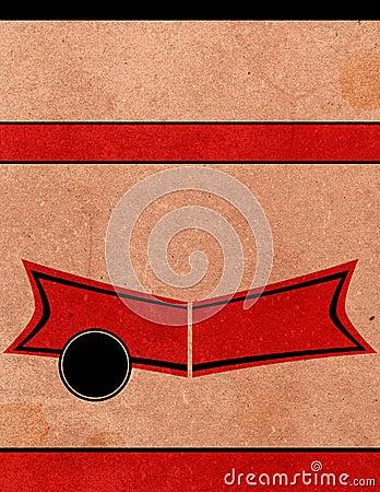 Tła playbill plakatowy retro szablon