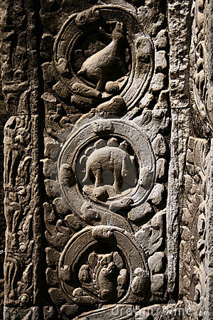 Ta Prohm temple,Angkor