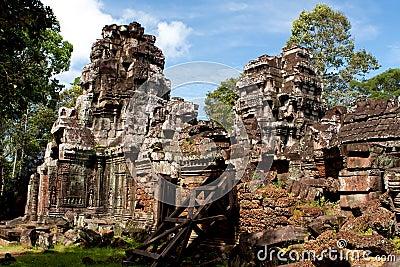 Ta Som temple. Angkor,Cambodia