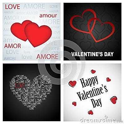 Tła valentine