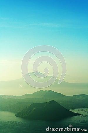 Free Taal Volcano Philippines Stock Image - 1894721