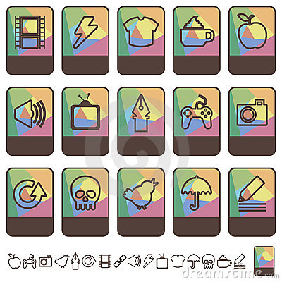 Tab icons set 2