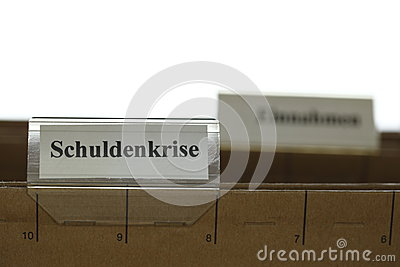 Tab with schuldenkrise