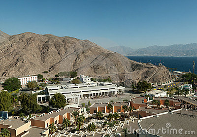 Taba land port and border control.