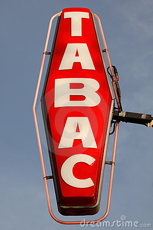 Free Tabac Sign Royalty Free Stock Photo - 10820815