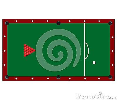 Tabela de Snooker