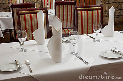Tabela do restaurante