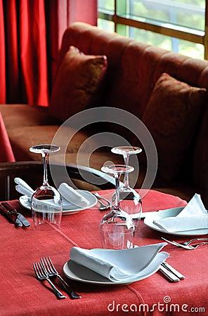Tavola del ristorante