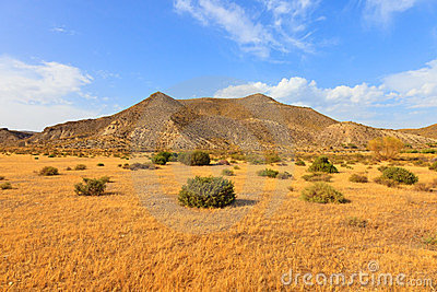 Tabernas desert, andalusia, spain, movie location