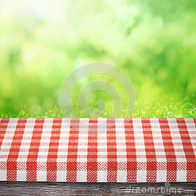 Free Table As Picnic Background Stock Image - 39041951