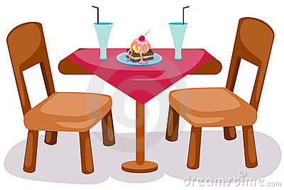 Chairs Stock Illustrations  Table And Chairs Clipart