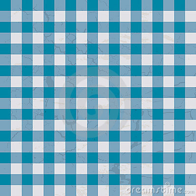 Table cloth blue