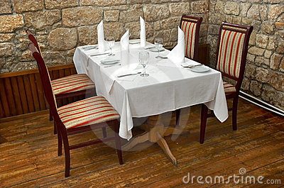 Table de restaurant