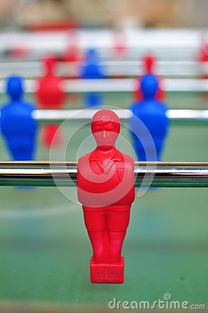 Free Table Football Player Royalty Free Stock Photography - 24864947