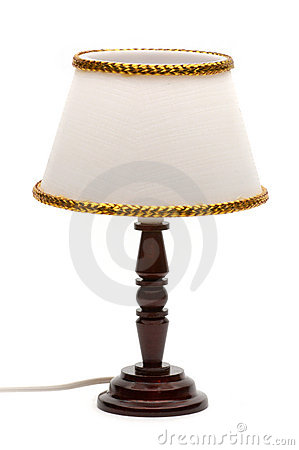 Free Table Lamp Royalty Free Stock Image - 636016