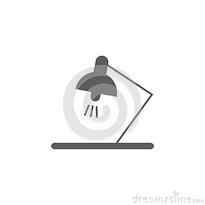 Free Table Lamp Icon. Element Of Education Icon. Premium Quality Graphic Design Icon. Signs, Outline Symbols Collection Icon For Websit Royalty Free Stock Photo - 108678455