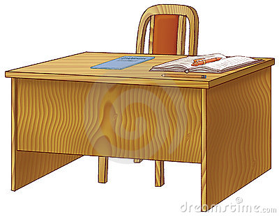Table School Teachers Royalty Free Stock Photos Image