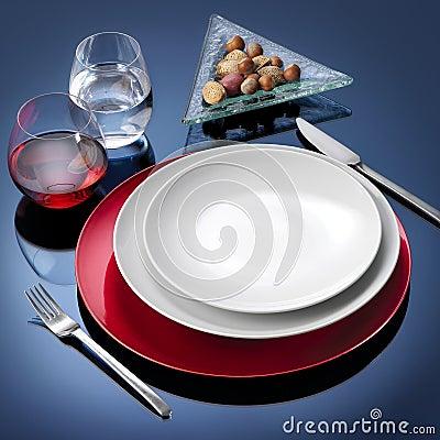 Table set dinner