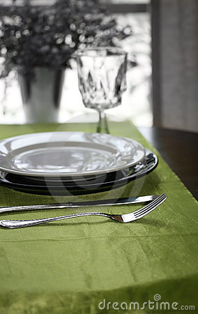 Free Table Setting Royalty Free Stock Images - 5517049