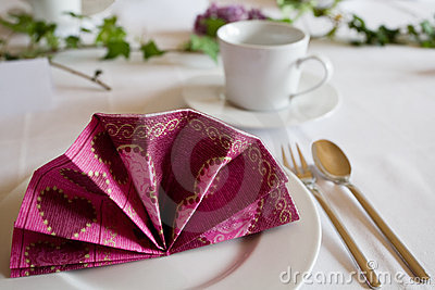Table Setting Royalty Free Stock Image - Image: 9421246