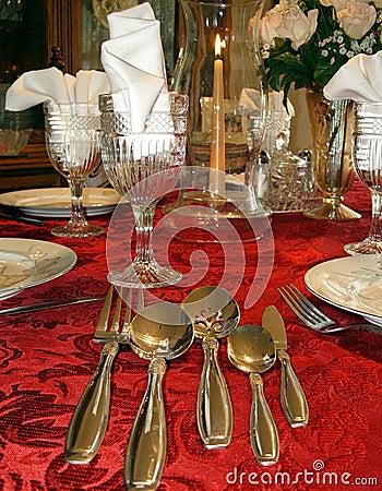 Free Table Setting Elegant Stock Photos - 5499873
