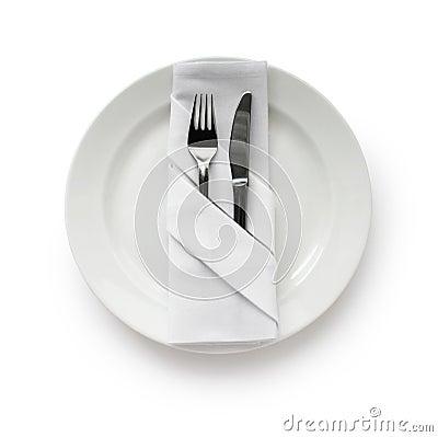 Table Setting,Folded Napkin