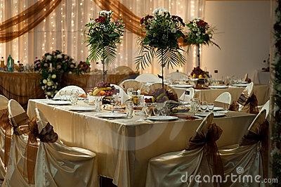 Table setting - Wedding