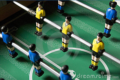 Table soccer players