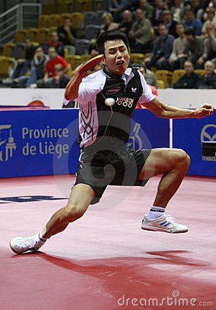 Table Tennis Editorial Stock Image