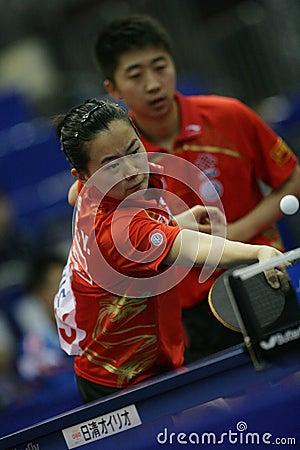Table Tennis Editorial Stock Photo