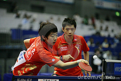 Table Tennis Editorial Image