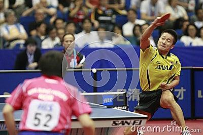 Table Tennis Editorial Photo
