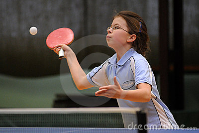 Table tennis action Editorial Image