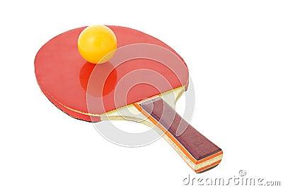 Table tennis bat and ball