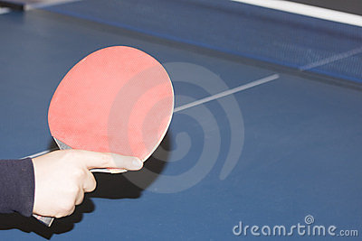 Table tennis and player
