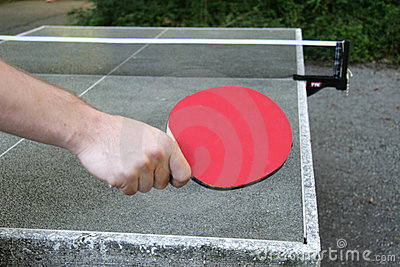 Table tennis position